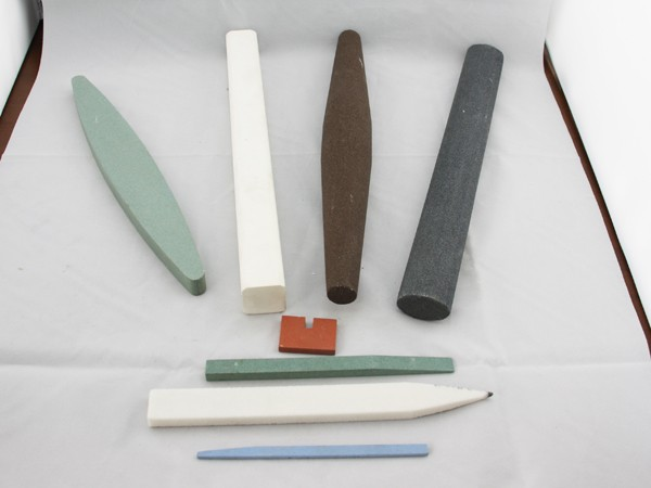 Customized shape abrasive stones