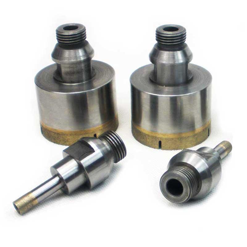 External-threaded-shank-diamond-drill-bit