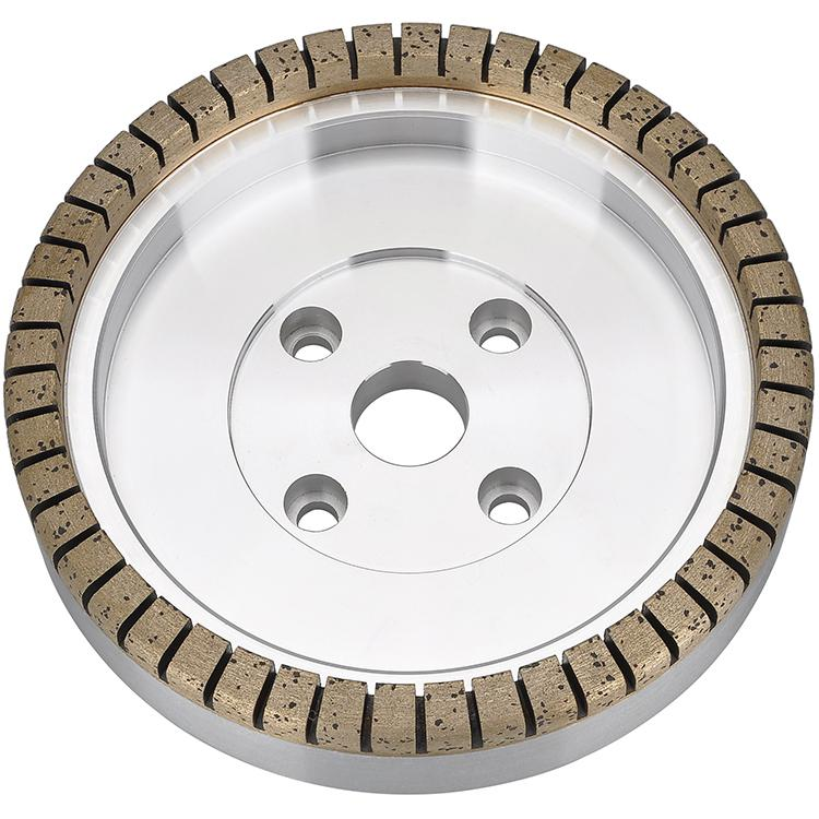 Full segmented metal bond diamond wheel 01