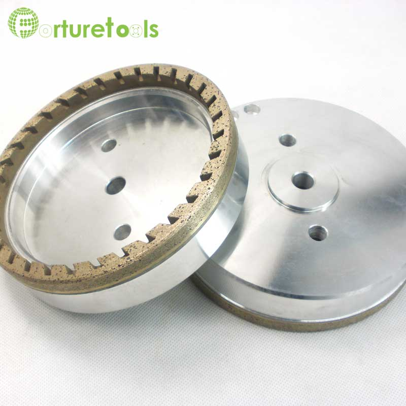 Internal half segmented diamond wheel for glass (5)