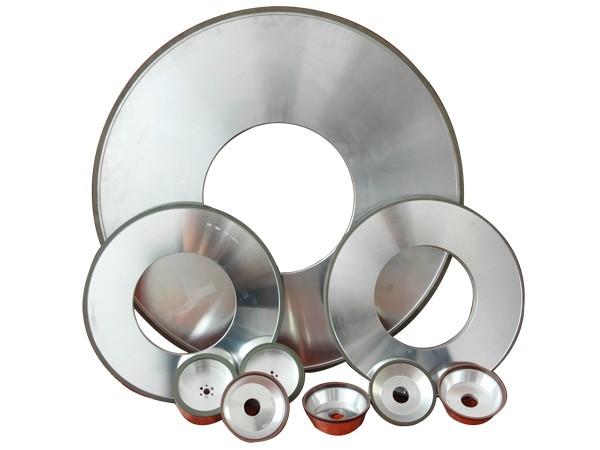 Resin bond grinding wheels