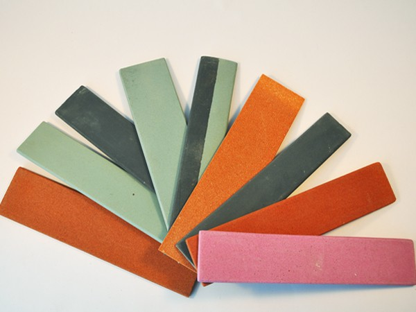 Single sided sharpening stones