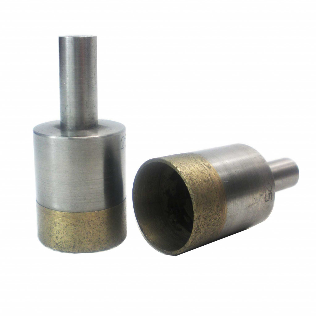 Straight shank diamond drill bits