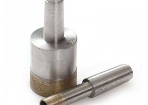 Taper-shank-diamond-glass-core-drill-bit