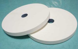 White aluminum oxide cylindrical grinding wheel