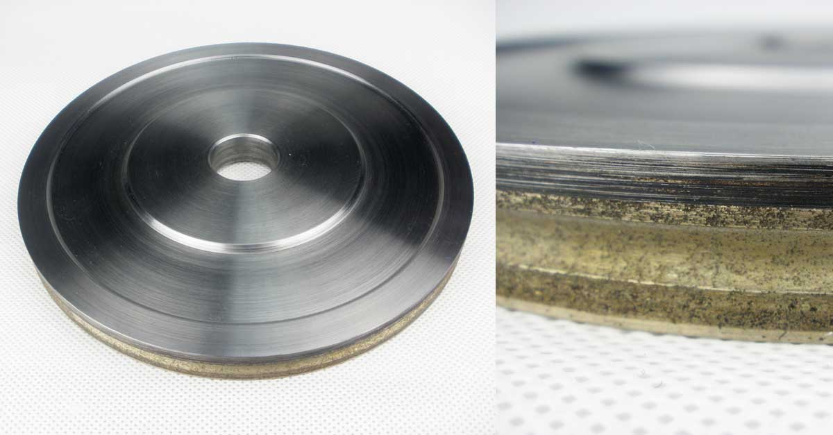 Metal bond diamond-grinding-wheels