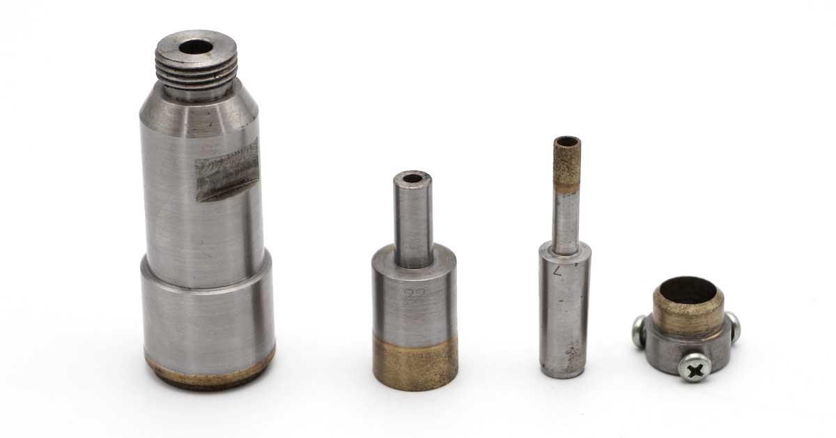 Diamond-drill-bit-and-diamond-countersink