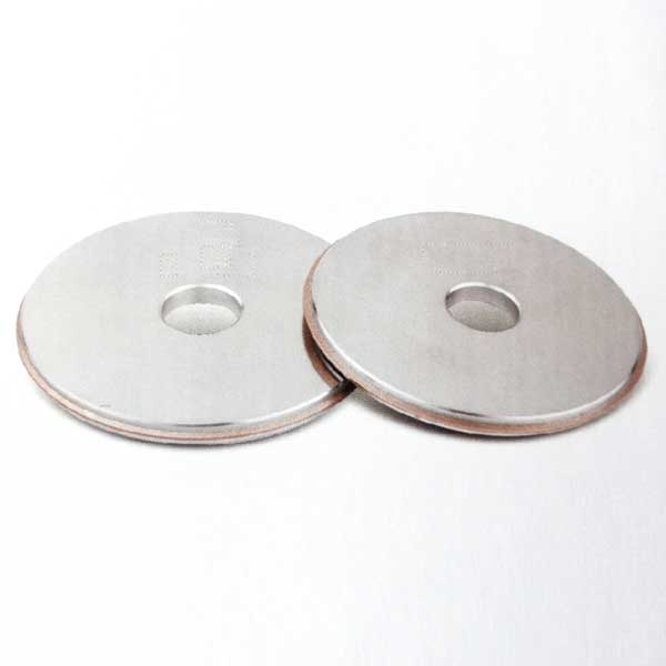 Electroplated grinding wheel for screw tap 001