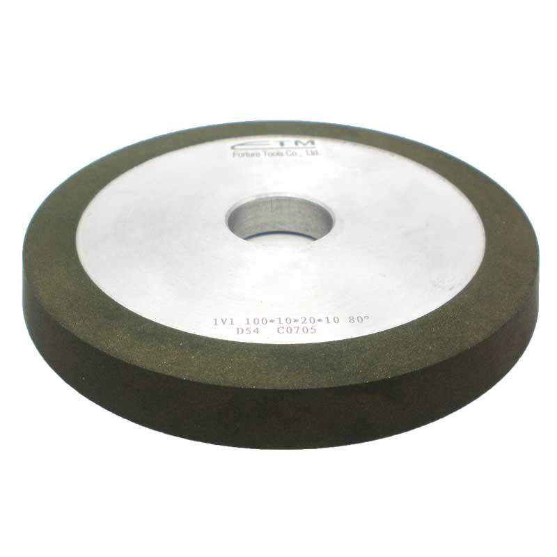 1v1 resin bond diamond grinding wheel