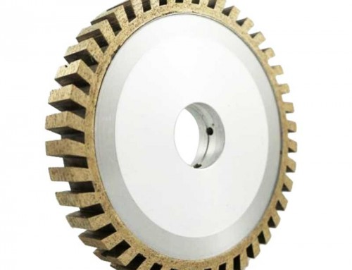 Full segmented CNC diamond grinding wheel