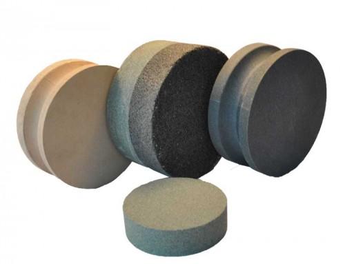 Round sharpening stones