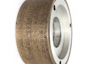 Metal bond centerless grinding wheel