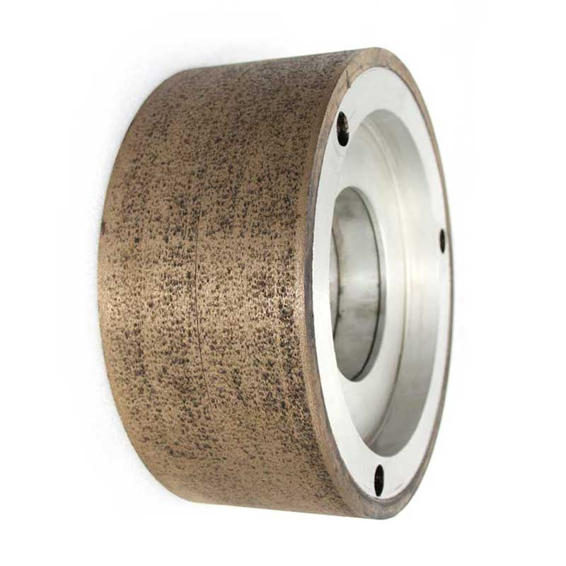 Metal bond centerless grinding wheel