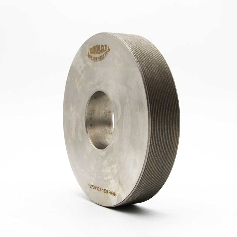Electroplated multi tooth grinding wheel
