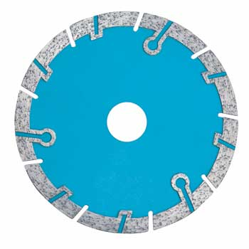 Segmented Saw Blade With Circular Protective Segments