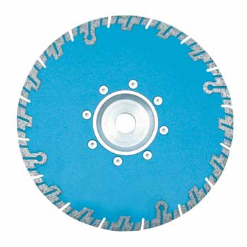 Segmented Turbo Saw Blade With Flange