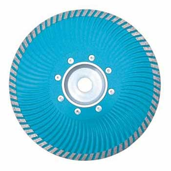 Turbo Wave Saw Blade With Flange