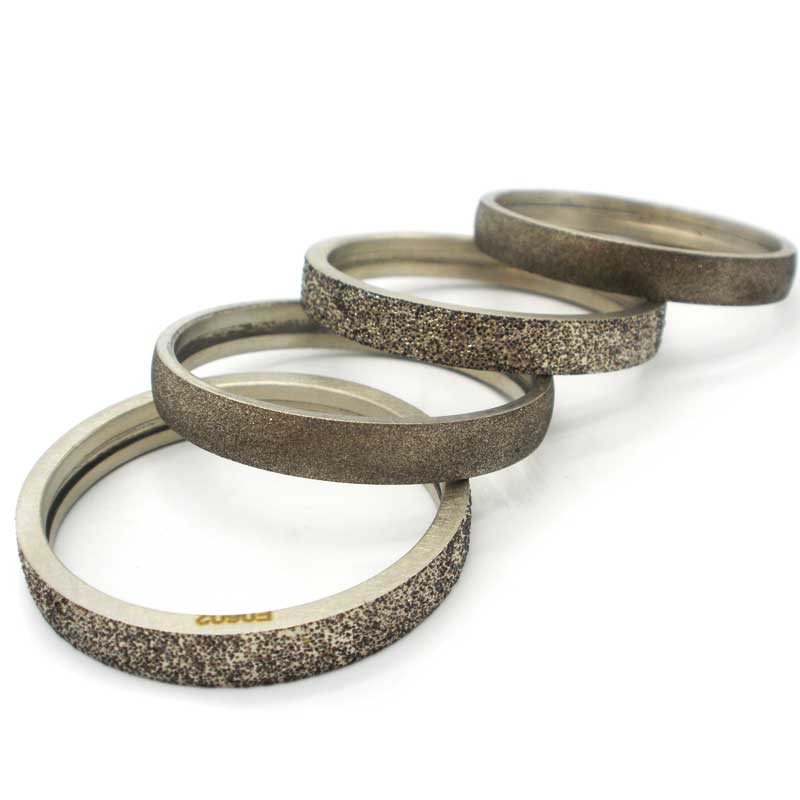 electroplated diamond rings
