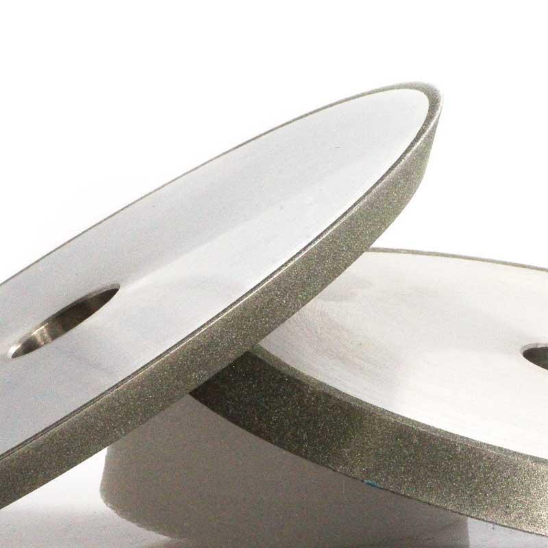 1V1 electroplated grinding wheel