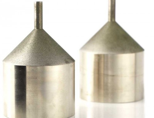 electroplated diamond milling tools