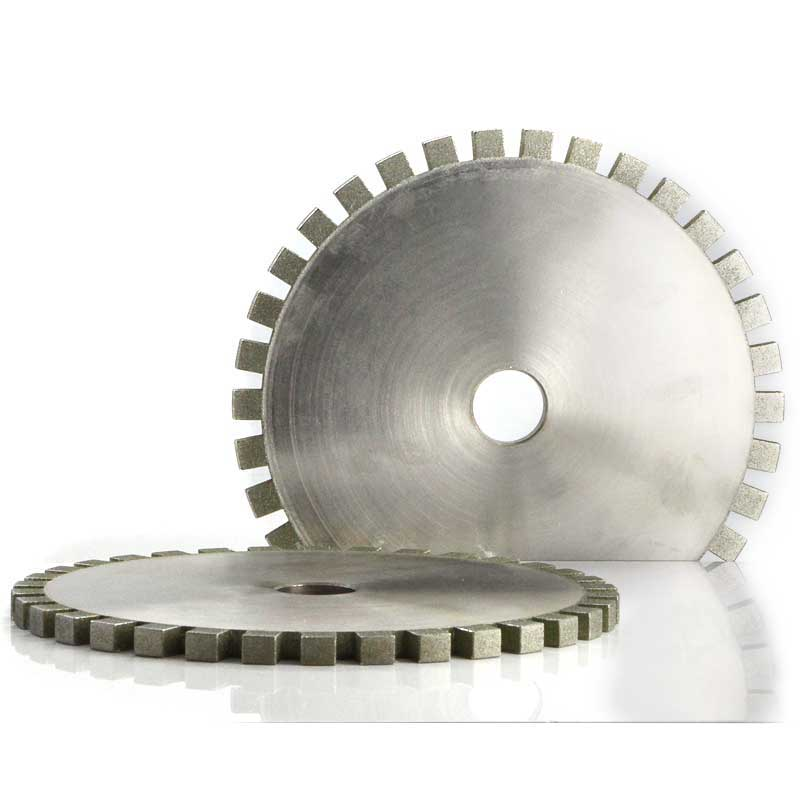 Full segmented diamond grinding wheel for CNC machine