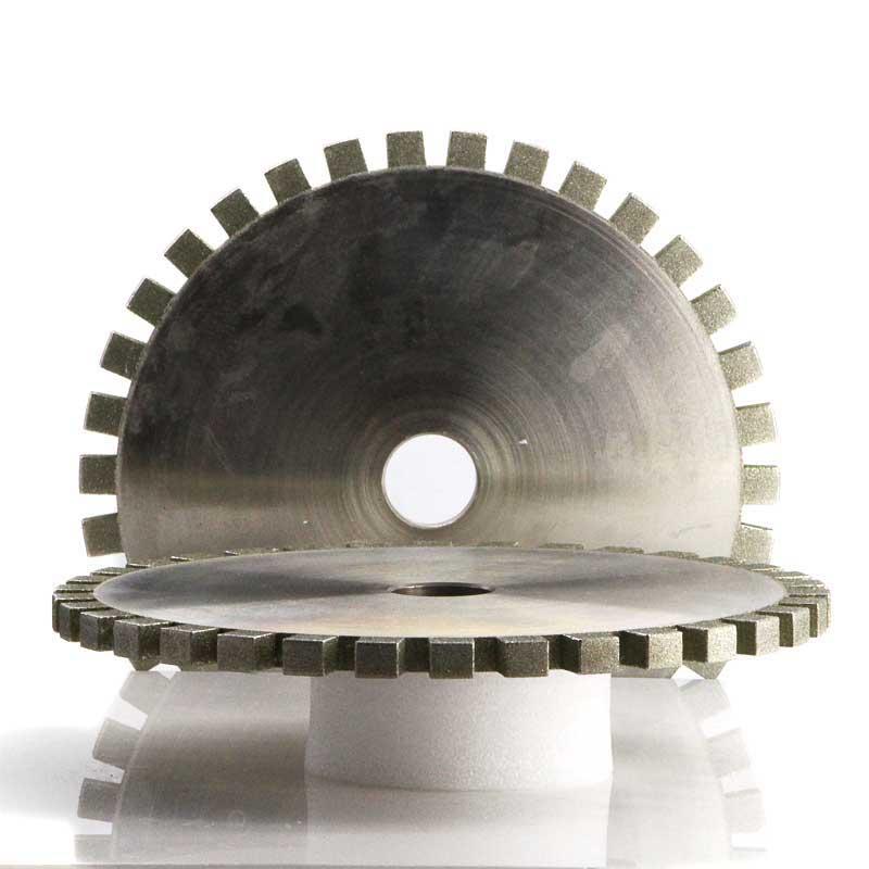 Full segmented diamond grinding wheel for CNC machine