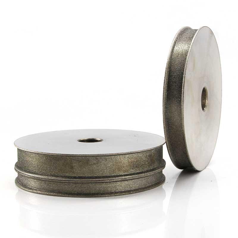 Lapidary Spherical Concave Arc diamond Coated Grinding Wheel