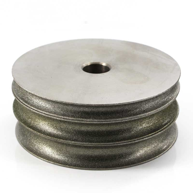 Lapidary Spherical Concave Arc diamond Coated Grinding Wheel