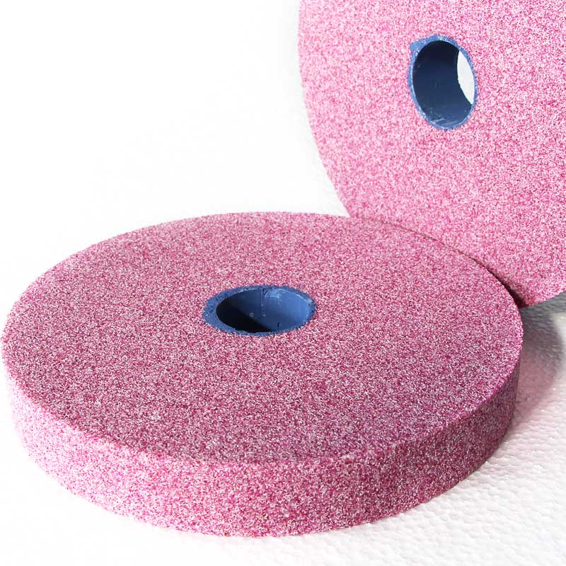 Pink corundum grinding wheels