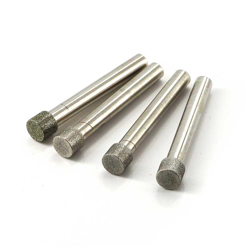 cylinder diamond mounted grinding wheel