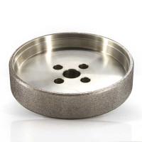 straight cup diamond plated grinding wheel