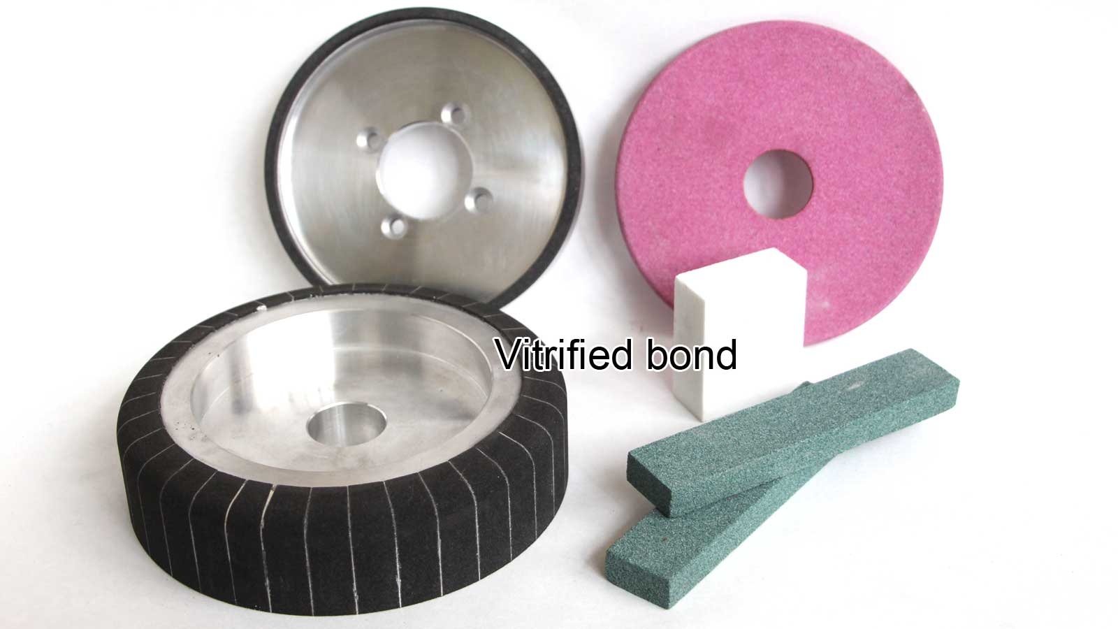 Vitrified-bond grinding wheels