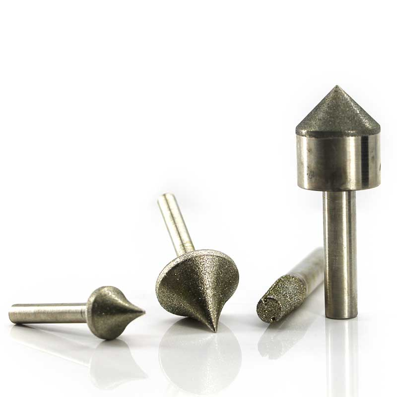 diamond cbn coated mounted points