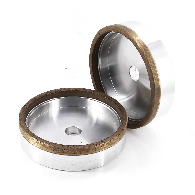 straight cup metal bond diamond grinding wheels