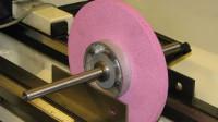 Static balance of the grinding wheel