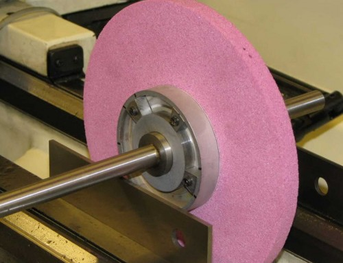 How to make Static balance of the grinding wheel
