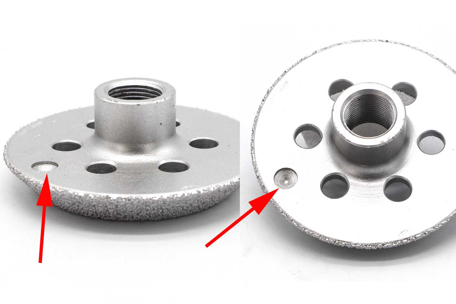 balance hole on brazed diamond wheel