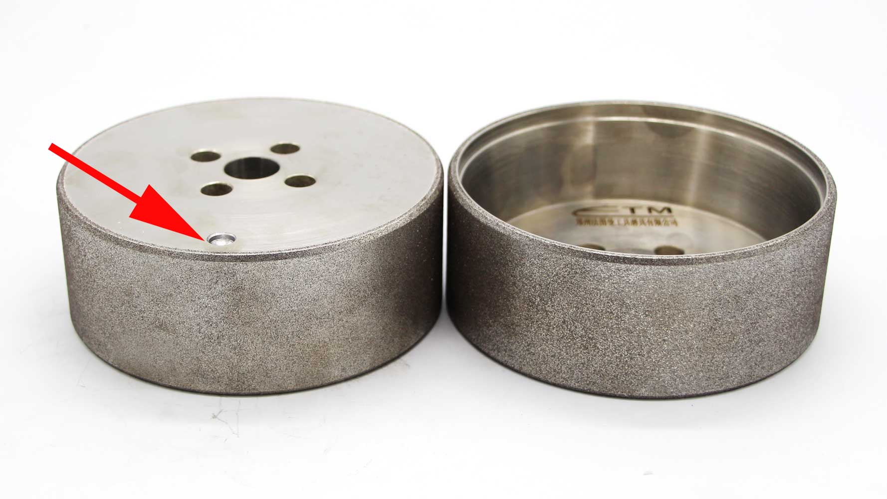 balance hole on electroplated grinding wheel