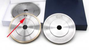 balance hole on sintered metal diamond wheel