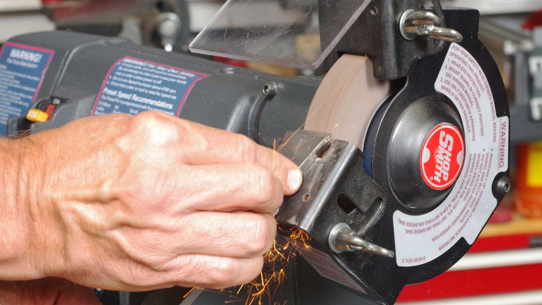 grinding wheel feed amount