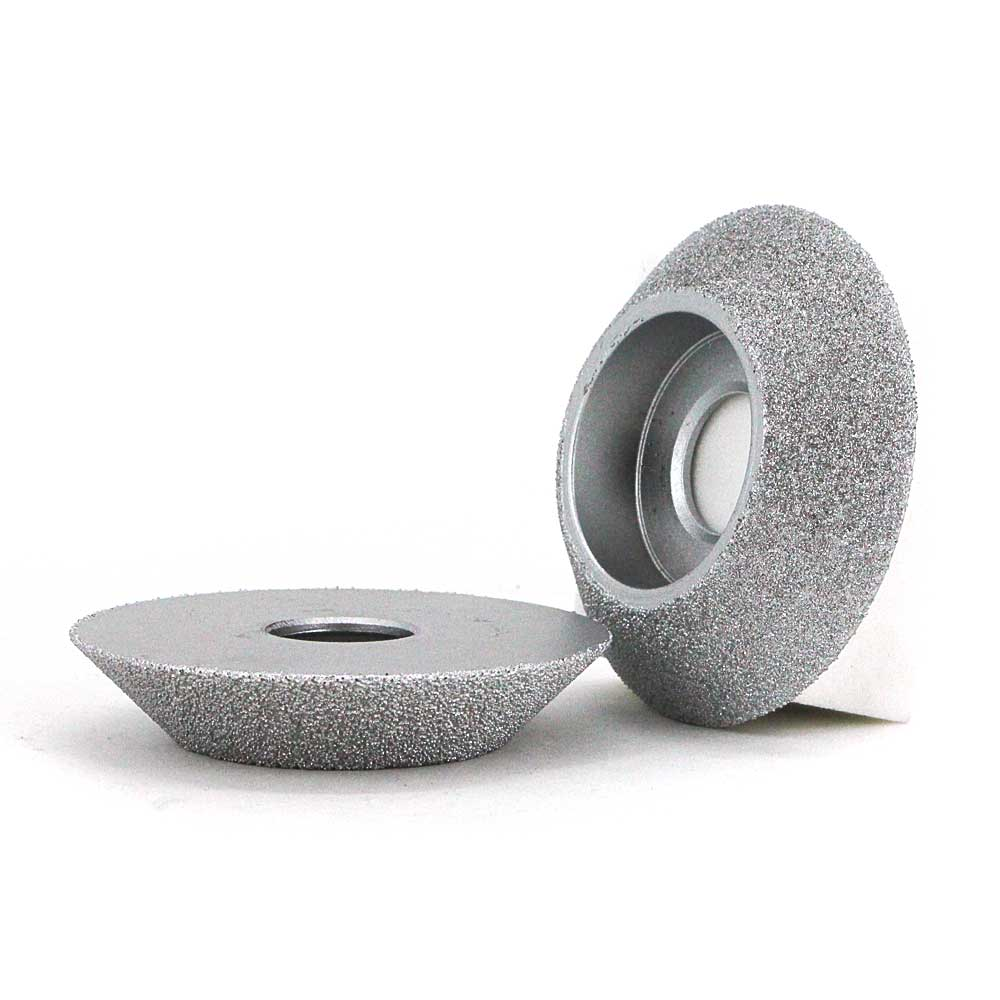 45 degree angle grinding wheel of brazed diamond