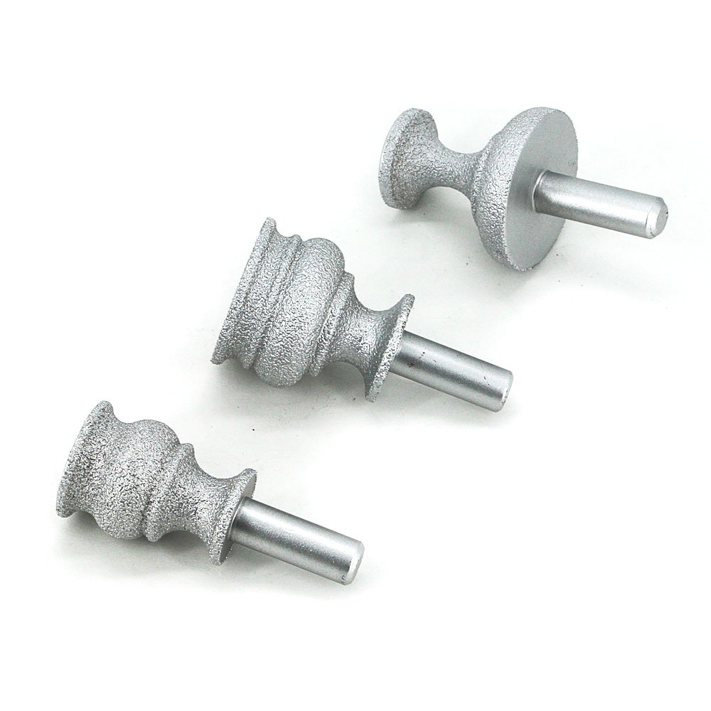 Brazing diamond grinding head cutter