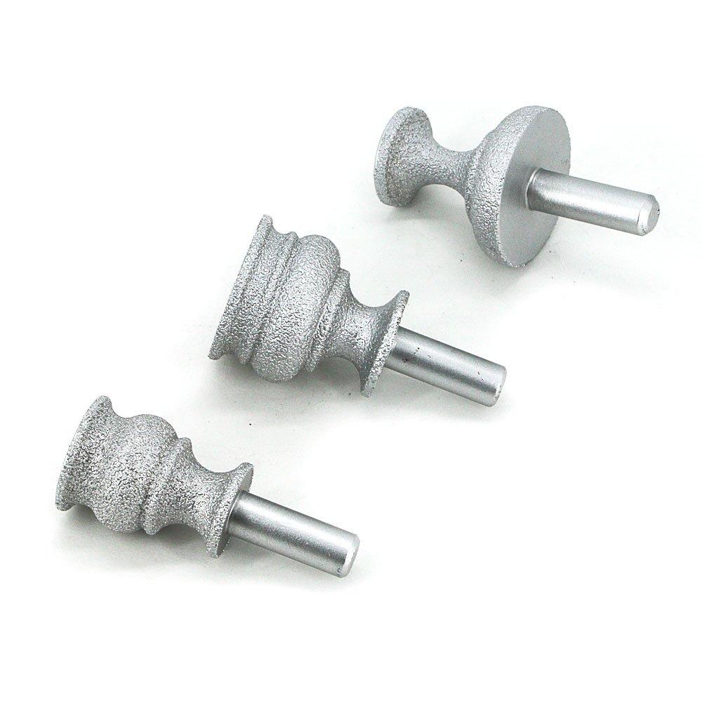 Brazing diamond grinding head cutter