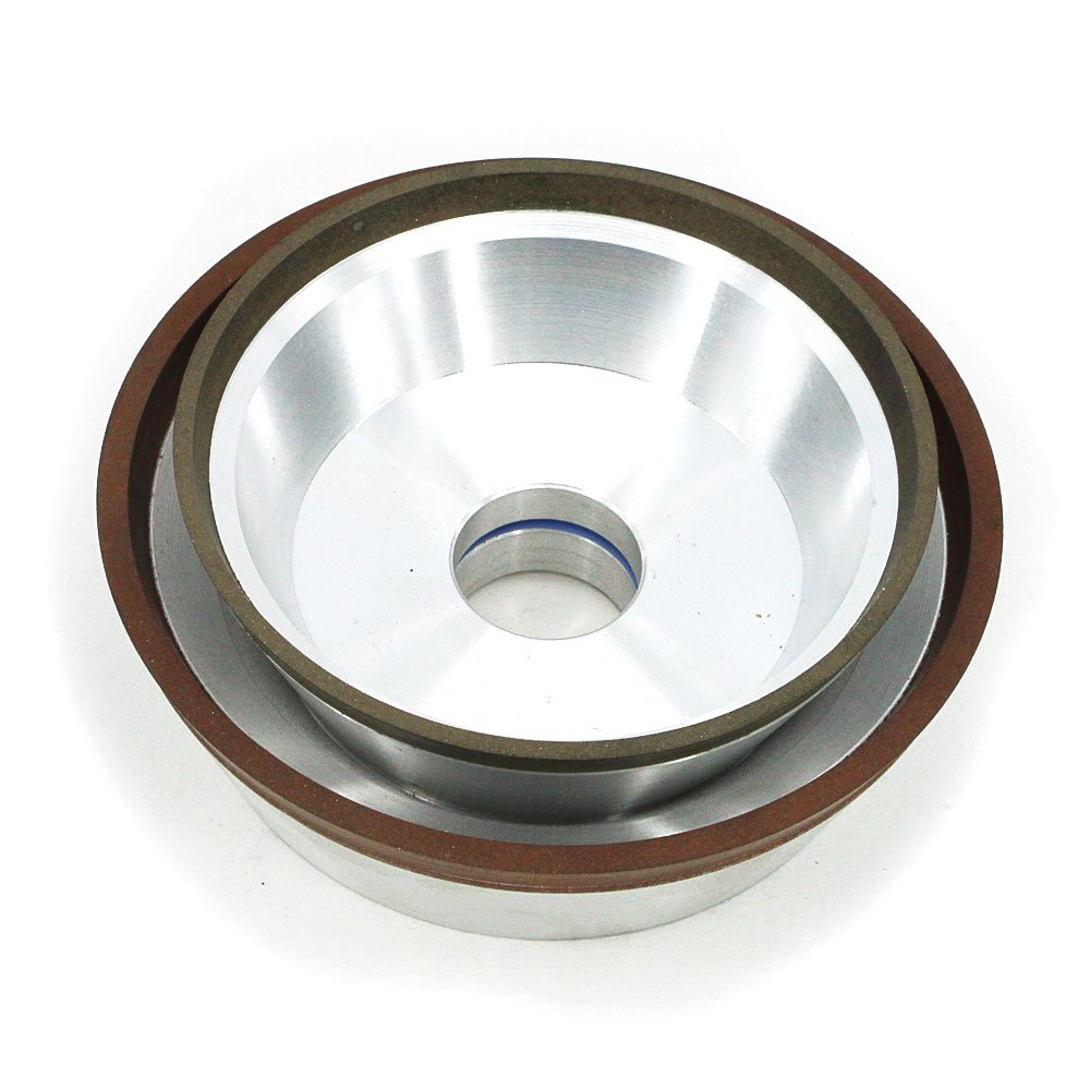 Diamond flaring cup grinding wheel