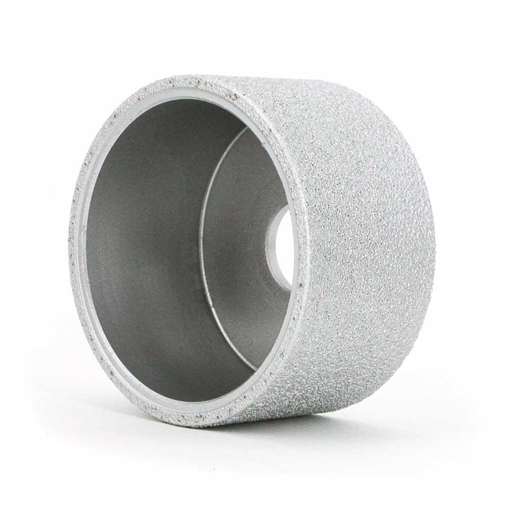 Flat brazed diamond grinding wheels