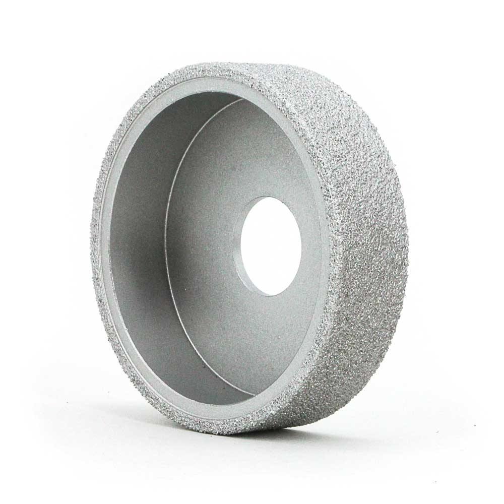 Flat brazed diamond grinding wheels