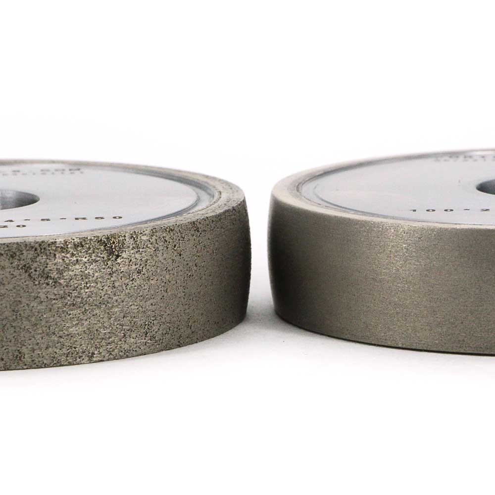 Metal bond round edge diamond grinding wheel