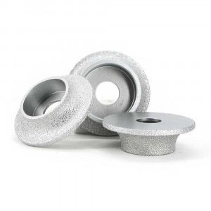 Brazed diamond semicircle grinding wheel