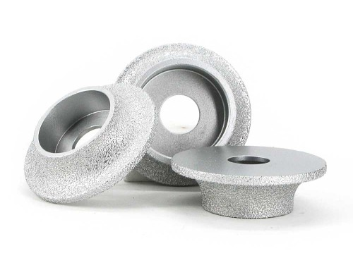 Brazed diamond semicircle grinding wheel