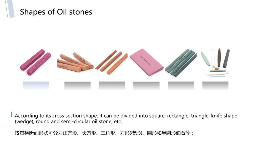 oil stone shapes